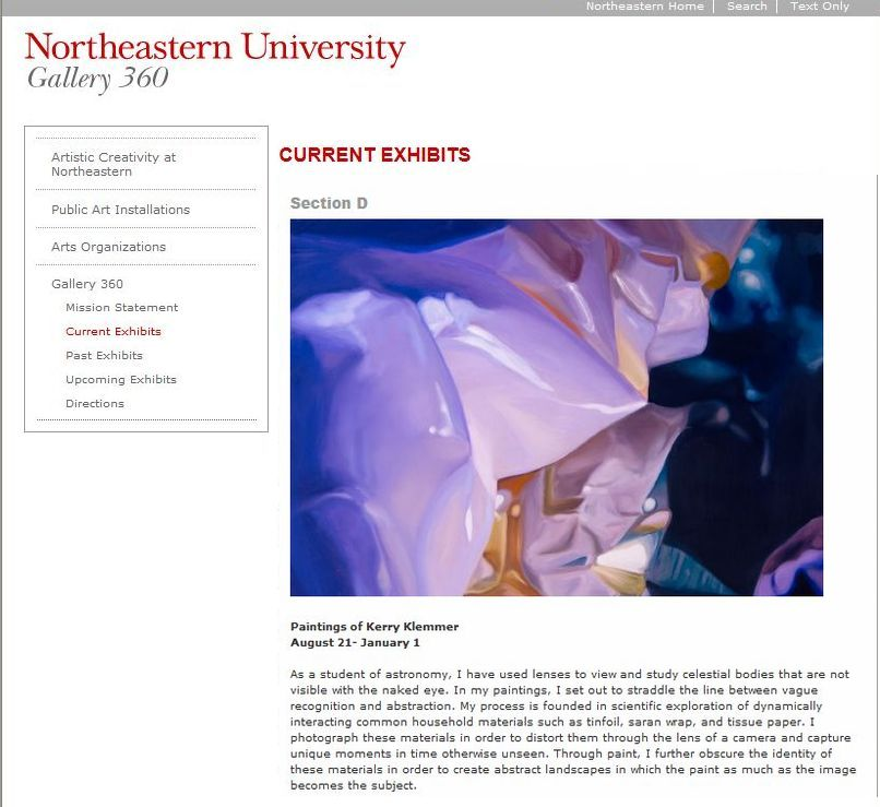 Northeastern Gallery Show